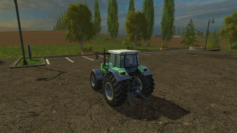 Трактор Agro Star deutz 661 V 1.0 для Farming Simulator 2015