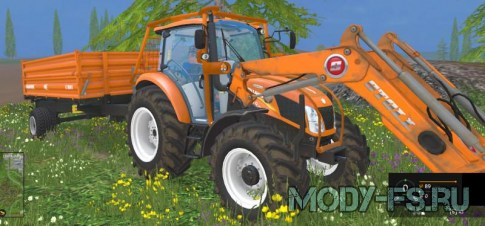 Трактор NH T 4.75 Forestry для Farming Simulator 2015