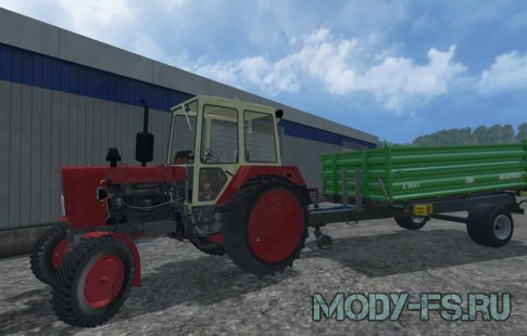 Мод ЮМЗ 6КЛ для Farming Simulator 2015