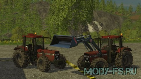 Мод Case 1455 XL Dirt Mod для FS 2015