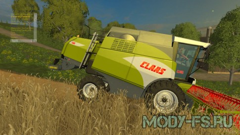 Мод Claas Combine v 1.0 для Farming Simulator 2015