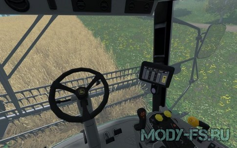 Комбайн John Deere W330 для Farming Simulator 2015