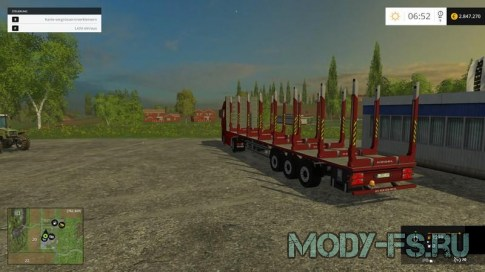Прицеп Kogel Timber Semi для FS 2015