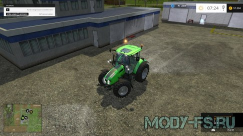 Мод Deutz Fahr 5150 TTV для Farming Simulator 2015