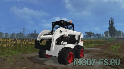 Мод Bobcat S160 для Farming Simulator 2015