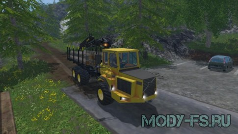 Volvo BM Forwarder для Farming Simulator 2015