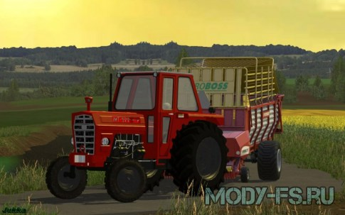 Мод трактор IMT 577 для Farming Simulator 15