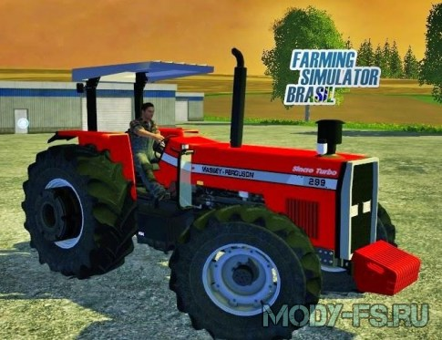 Мод Massey Ferguson 299 v1.0 для Farming simulator 2015