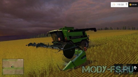 Комбайн Deutz Fahr 7545 Super Flex Draper для FS 15