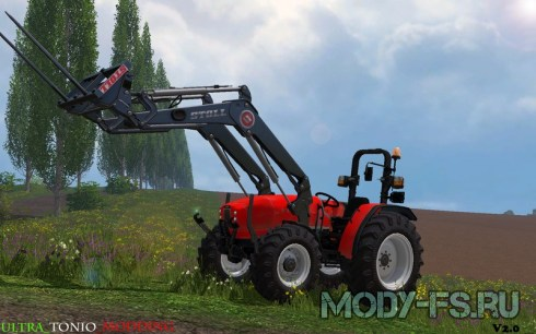 Мод трактор Same Argon 3 75 для Farming Simulator 15
