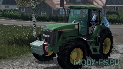 Мод трактор John Deere 8300 для Farming Simulator 15