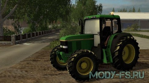 Мод трактор Jonh Deere 6100 для Farming Simulator 15