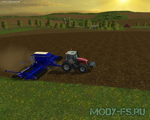 Мод синий Horsch Pronto 9m V 1.5 Fertilizer для FS 15