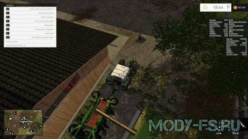 Мод сеялка Amazone Cayena 6001 для Farming Simulator 2015