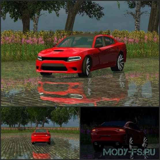 Мод Dodge Carger Hellcat 2015 для Farming Simulator 15