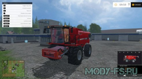 Мод комбайна IH 9230 для Farming Simulator 15