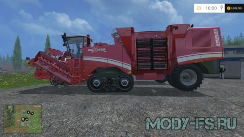 Мод Grimme Maxtron 620 & Grimme Tectron 415 для ФС 2015