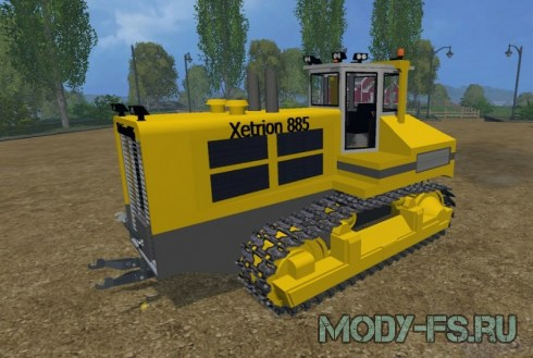 Мод трактора Xetrion 885 для Farming simulator 2015