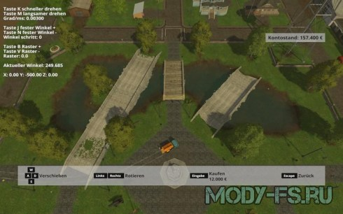 Мод объектов Bridges Set v1.0 для Farming Simulator 2015