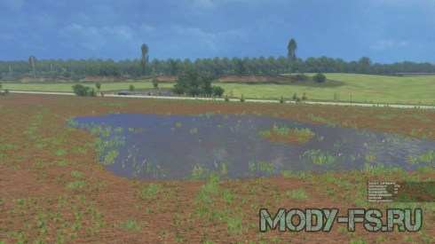 Мод карты Чешская долина v1.1 для Farming Simulator 2015