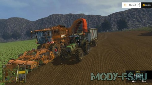 Мод карты LES CHOUANS V2 для Farming Simulator 2015