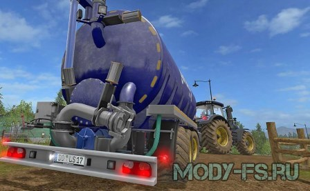 Мод  цистерны KOTTE GARANT TSA 30000 V 1.0 для Farming Simulator 2017