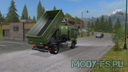 Пак грузовиков для farming simulator 2017 MAN TGS 18.440 S TIPPER PACK V 1.0 MULTICOLOR