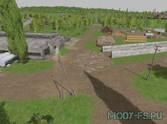 Cкачать карту Сосновка для Farming Simulator 2017(моды)