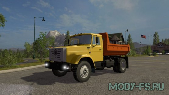 Мод ЗИЛ для farming simulator 2015 ZIL MMZ 45085 V 1.0 MULTICOLOR