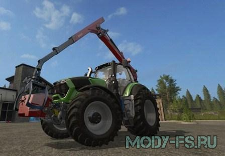 Моды для farming simulator 2017 лесоповал 2, EPSILON PALFINGER M80F MOUNTED CRANE FOR TRACTORS V 1.3 MULTICOLOR